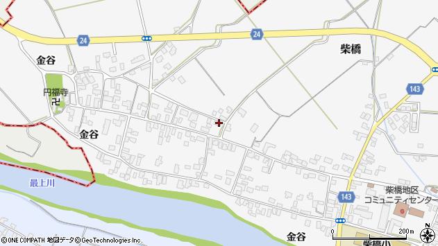 山形県寒河江市柴橋1681周辺の地図