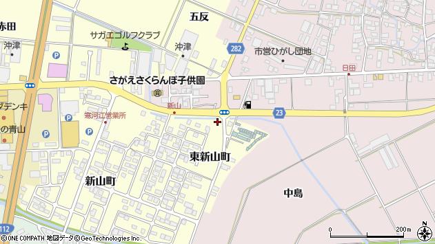 山形県寒河江市東新山町271周辺の地図