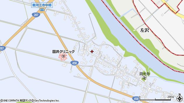 山形県寒河江市中郷951周辺の地図