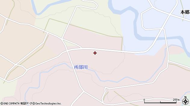 山形県西村山郡大江町塩野平141周辺の地図