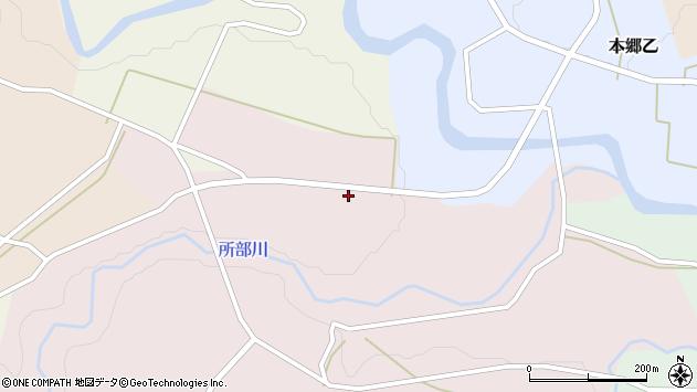 山形県西村山郡大江町塩野平144周辺の地図