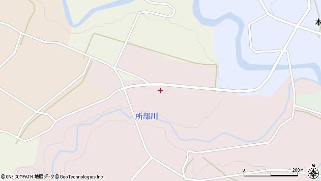 山形県西村山郡大江町塩野平84周辺の地図
