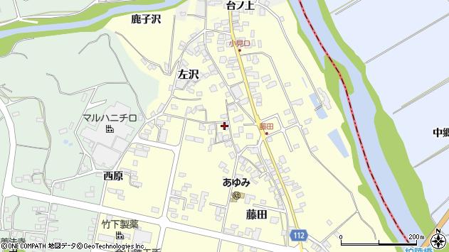 山形県西村山郡大江町藤田450周辺の地図