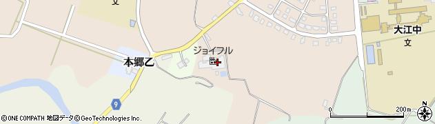 山形県西村山郡大江町本郷丙396周辺の地図