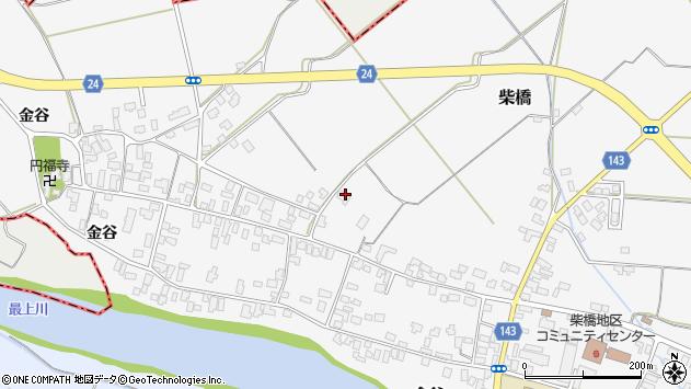 山形県寒河江市柴橋1817周辺の地図