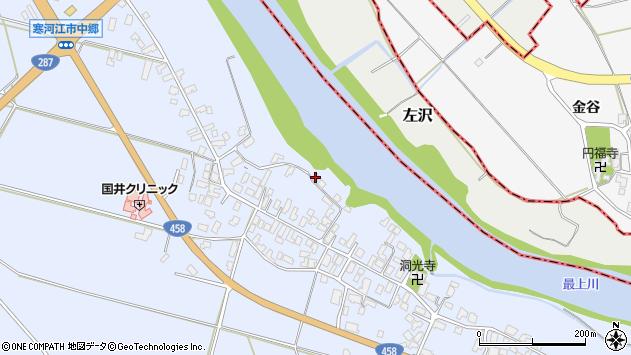 山形県寒河江市中郷922周辺の地図
