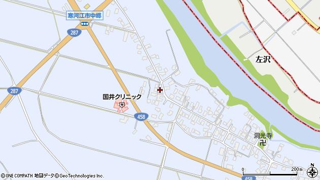 山形県寒河江市中郷1277周辺の地図