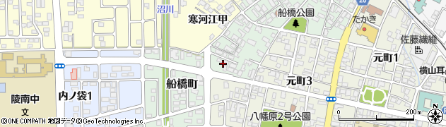 山形県寒河江市船橋町653周辺の地図