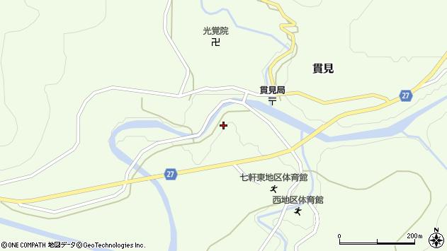 山形県西村山郡大江町貫見393周辺の地図
