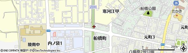 山形県寒河江市船橋町16周辺の地図