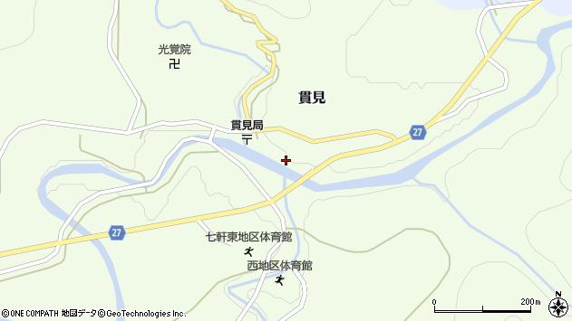山形県西村山郡大江町貫見52周辺の地図