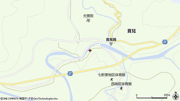 山形県西村山郡大江町貫見365周辺の地図