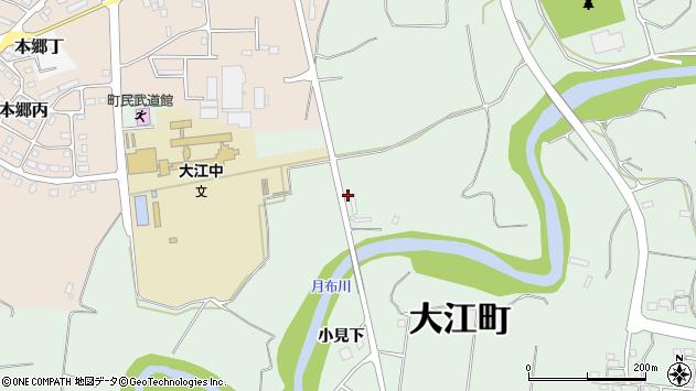 山形県西村山郡大江町本郷己813周辺の地図