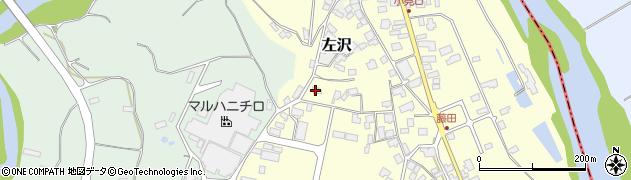 山形県西村山郡大江町藤田669周辺の地図