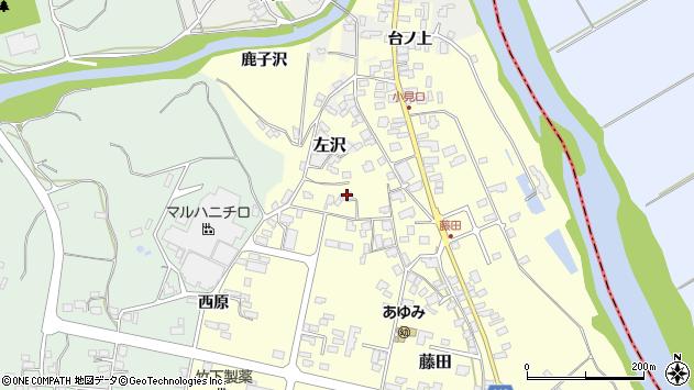 山形県西村山郡大江町藤田456周辺の地図