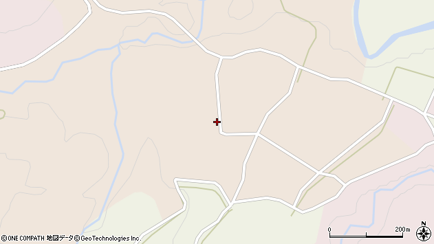 山形県西村山郡大江町顔好甲205周辺の地図