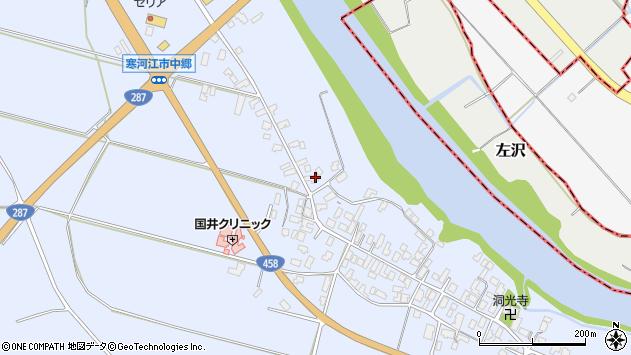 山形県寒河江市中郷956周辺の地図