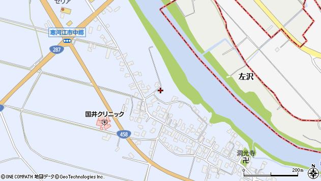 山形県寒河江市中郷1026周辺の地図