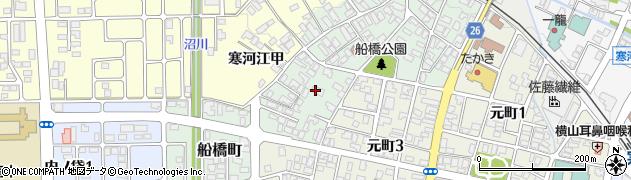 山形県寒河江市船橋町1860周辺の地図