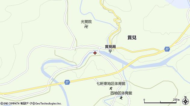 山形県西村山郡大江町貫見369周辺の地図