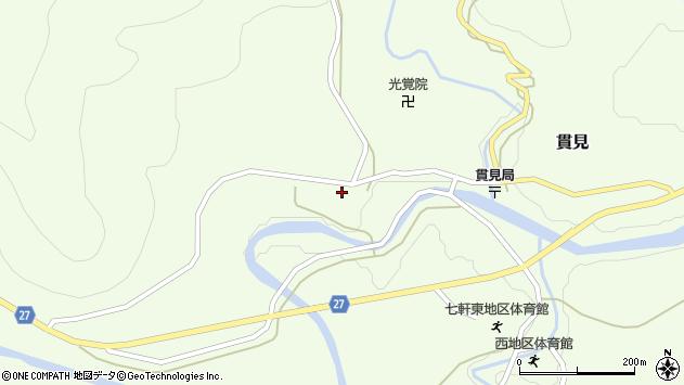 山形県西村山郡大江町貫見177周辺の地図
