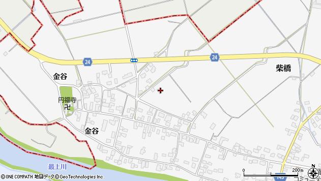 山形県寒河江市柴橋1710周辺の地図