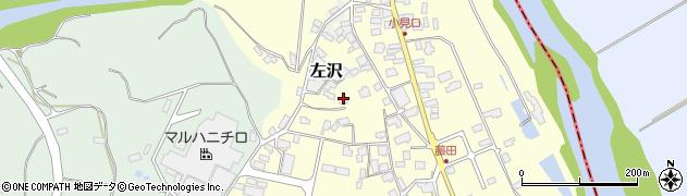 山形県西村山郡大江町藤田464周辺の地図