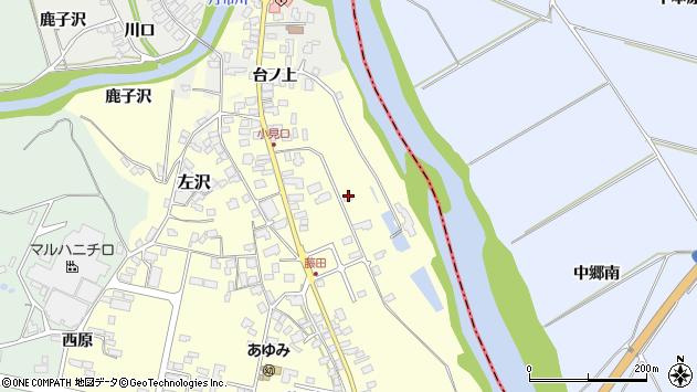 山形県西村山郡大江町藤田68周辺の地図