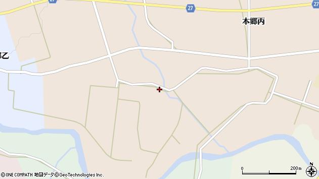 山形県西村山郡大江町本郷丙467周辺の地図