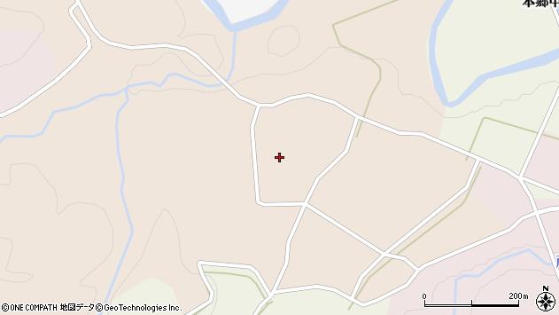 山形県西村山郡大江町顔好甲原周辺の地図