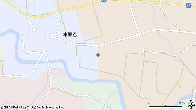 山形県西村山郡大江町本郷乙208周辺の地図