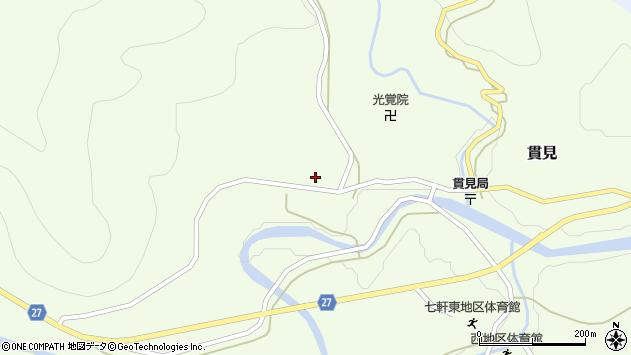 山形県西村山郡大江町貫見181周辺の地図