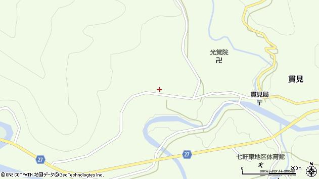 山形県西村山郡大江町貫見196周辺の地図