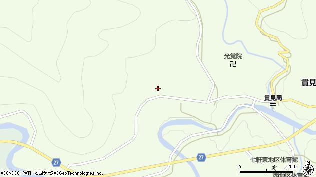 山形県西村山郡大江町貫見204周辺の地図