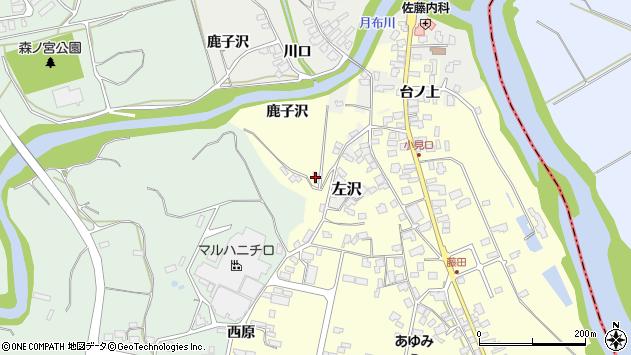 山形県西村山郡大江町藤田571周辺の地図