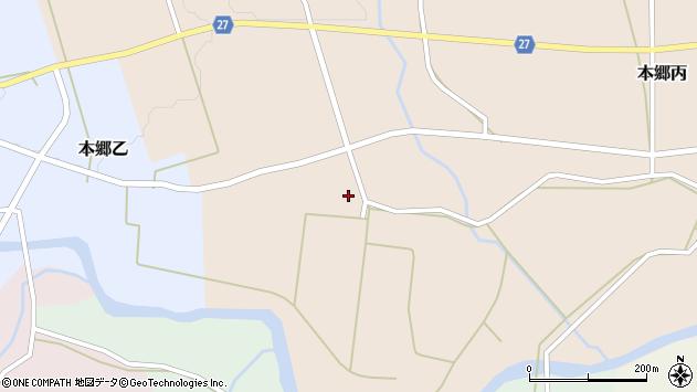 山形県西村山郡大江町本郷丙650周辺の地図