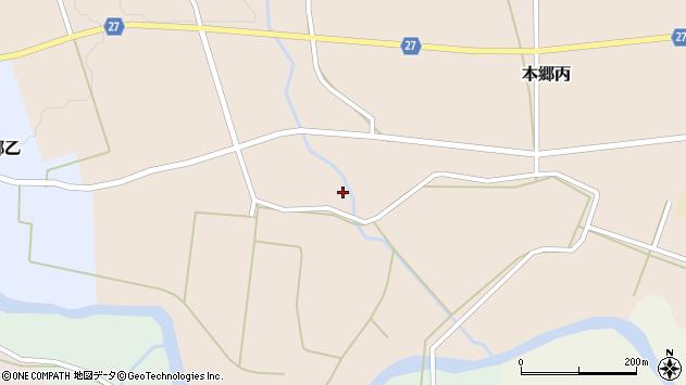 山形県西村山郡大江町本郷丙648周辺の地図