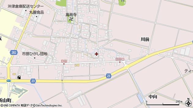山形県寒河江市日田565周辺の地図