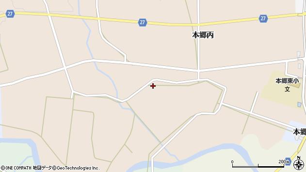 山形県西村山郡大江町本郷丙463周辺の地図