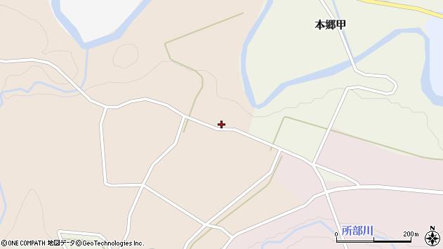 山形県西村山郡大江町本郷甲295周辺の地図