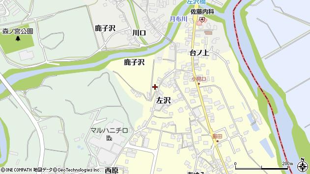 山形県西村山郡大江町藤田682周辺の地図