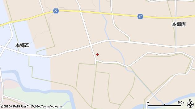 山形県西村山郡大江町本郷丙551周辺の地図