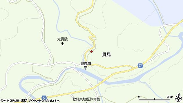 山形県西村山郡大江町貫見8周辺の地図