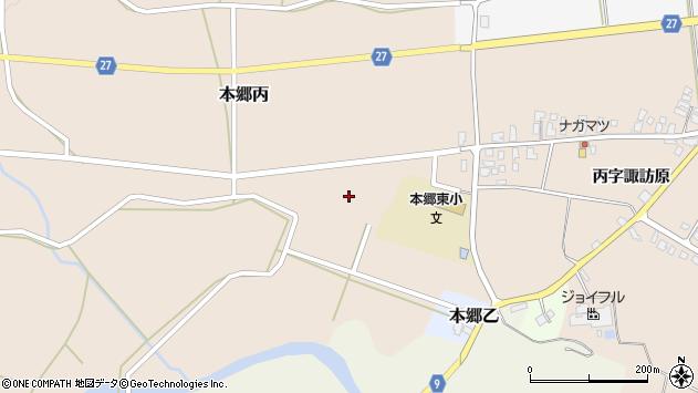 山形県西村山郡大江町本郷丙427周辺の地図