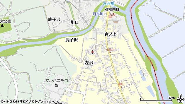 山形県西村山郡大江町藤田1683周辺の地図