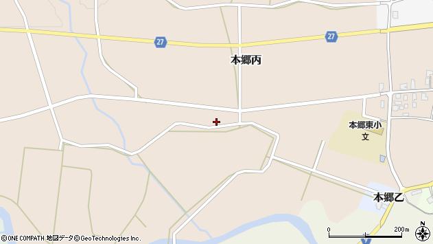山形県西村山郡大江町本郷丙135周辺の地図