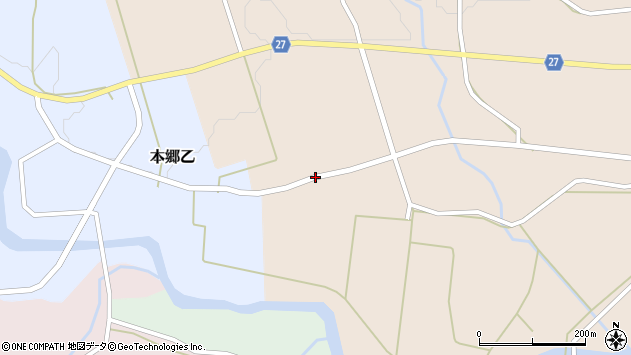 山形県西村山郡大江町本郷丙497周辺の地図