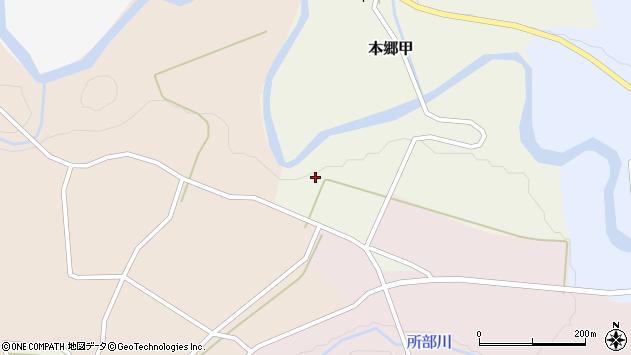 山形県西村山郡大江町本郷甲383周辺の地図