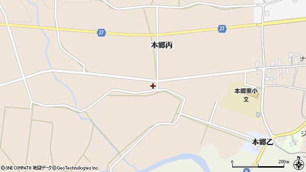 山形県西村山郡大江町本郷丙137周辺の地図