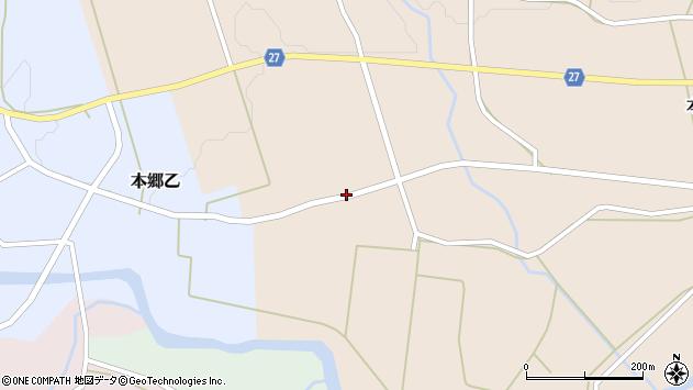 山形県西村山郡大江町本郷丙495周辺の地図